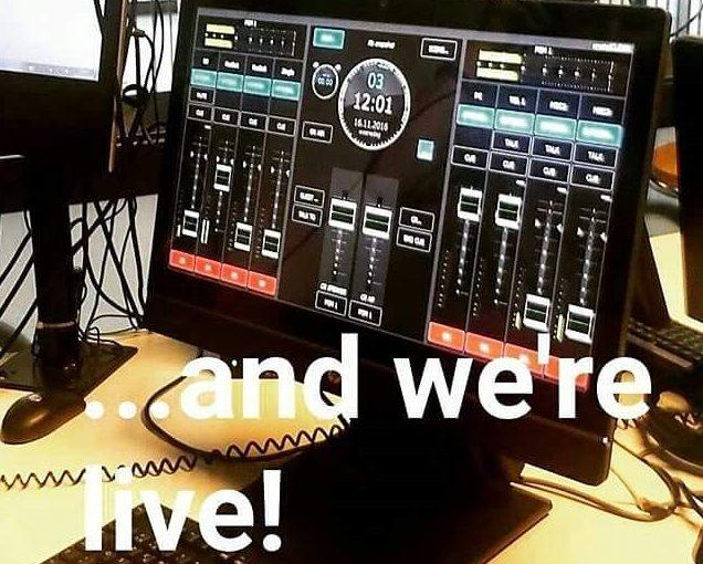 Erasmus Live, the radio show